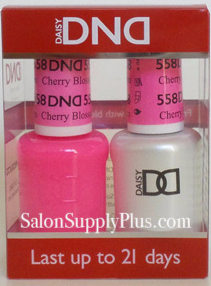 558 - DND Duo Gel - Cherry Blossom