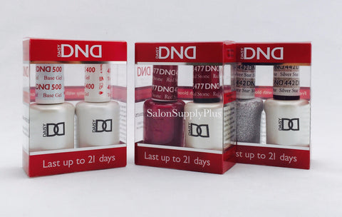 DND Duo Gel Base & Top + Any 2 Colors of your choice