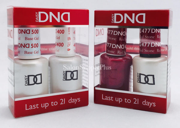 DND Duo Gel Base & Top + Any 1 Color of your choice
