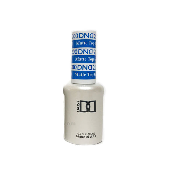 DND Gel Matte Top Coat .5 fl oz