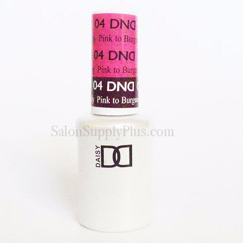 04 - DND Mood Gel - Pink to Burgundy