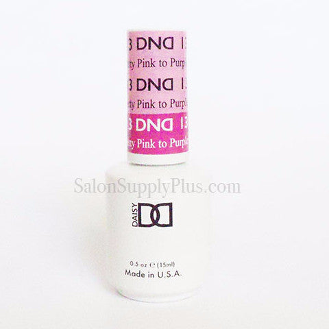 13 - DND Mood Gel - Pretty Pink to Purple Pink