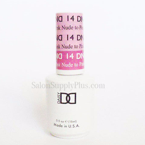 14 - DND Mood Gel - Nude to Pink Nude