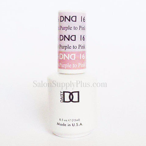 16 - DND Mood Gel - Light Purple to Pink