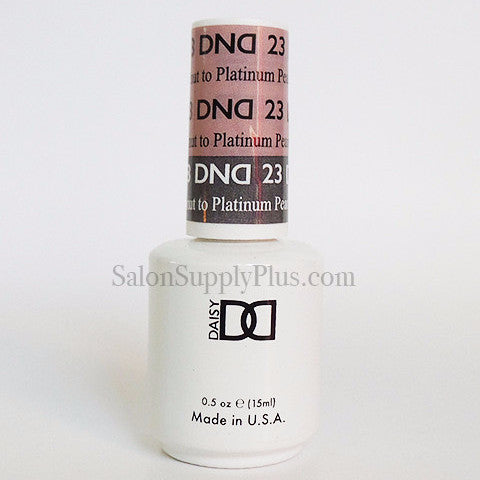 23 - DND Mood Gel - Peanut to Platinum