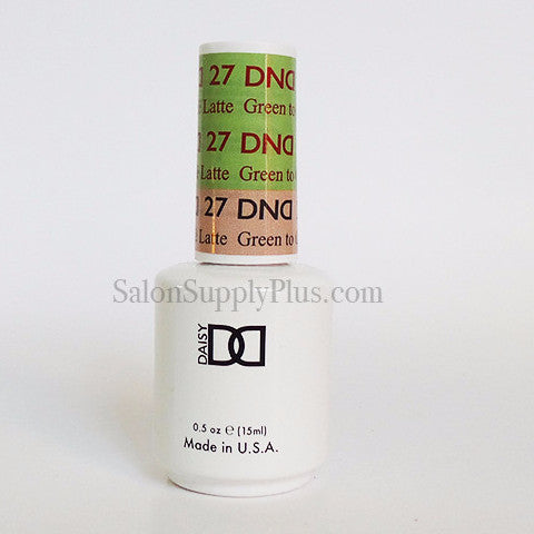 27 - DND Mood Gel - Green to Cafe Latte