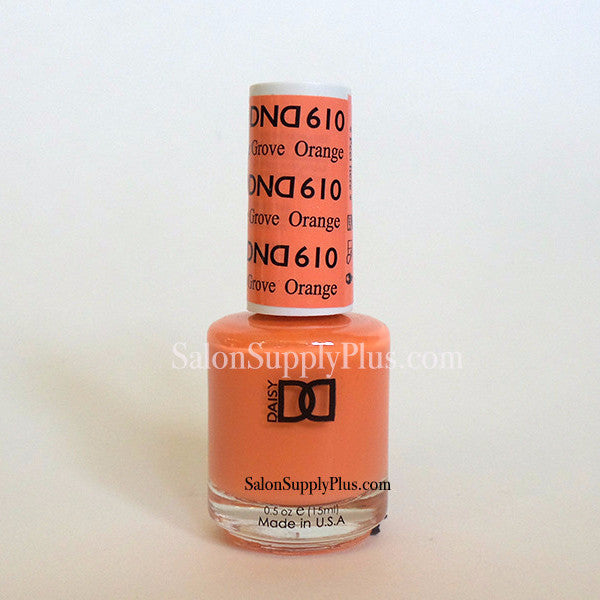 610 - DND Lacquer -Orange Grove - (Diva Collection)