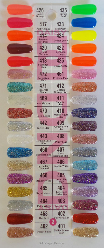Dnd Duo Gel Complete 307 Colors Collection Salon Supply Plus