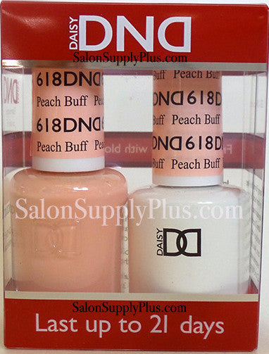 618 - DND Duo Gel - Peach Buff - (Diva Collection)