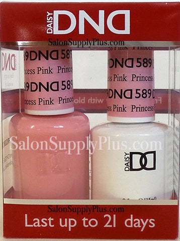 589 - DND Duo Gel - Princess Pink - (Diva Collection)