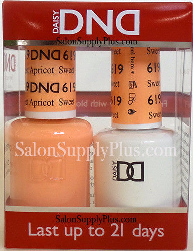 619 - DND Duo Gel - Sweet Apricot - (Diva Collection)