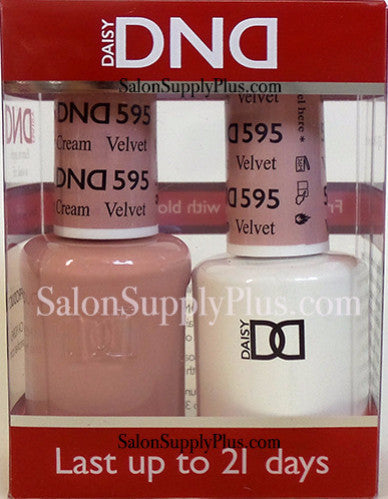 595 - DND Duo Gel - Velvet - (Diva Collection)
