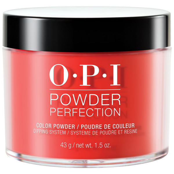 OPI Powder Perfection - BIG APPLE RED (DPN25) - 1.5 OZ