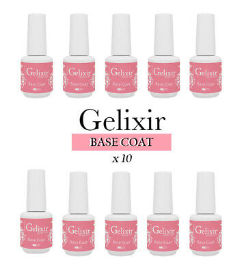 Gelixir - 10 Pack - Base Gel Coat
