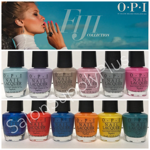 OPI Summer 2017 - Fiji Collection - 12 Colors