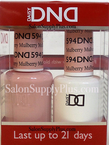 594 - DND Duo Gel - Mulberry - (Diva Collection)