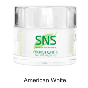 SNS - DIP POWDER - AMERICAN WHITE - 2 OZ