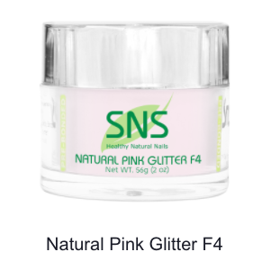 SNS - DIP POWDER - FRENCH WHITE GLITTER F4 - 2 OZ