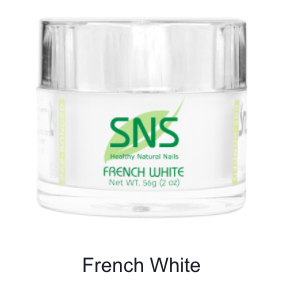 SNS -DIP POWDER - FRENCH WHITE - 2 OZ