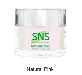 SNS - DIP POWDER - NATURAL PINK - 2 OZ