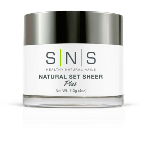 SNS - DIP POWDER - NATURAL SET SHEER - 4 OZ