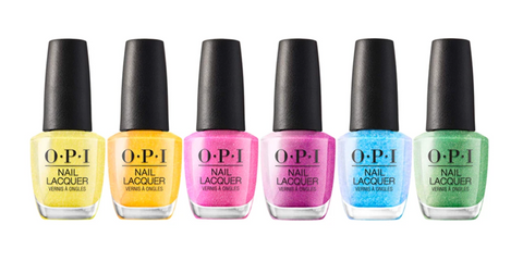 OPI LACQUER - HIDDEN PRISM - SET OF 6 COLORS