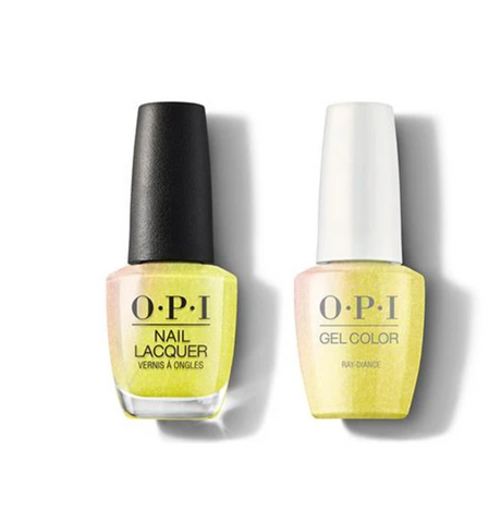 SR1 - OPI Gel color & Lacquer Duo set - Ray-diance
