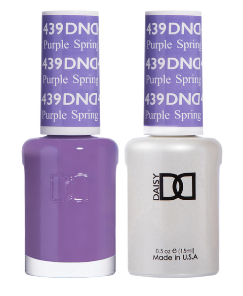 439 - DND Duo Gel - Purple Spring