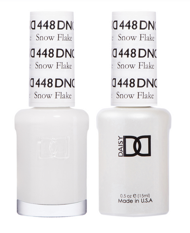 448 - DND Duo Gel - Snow Flake