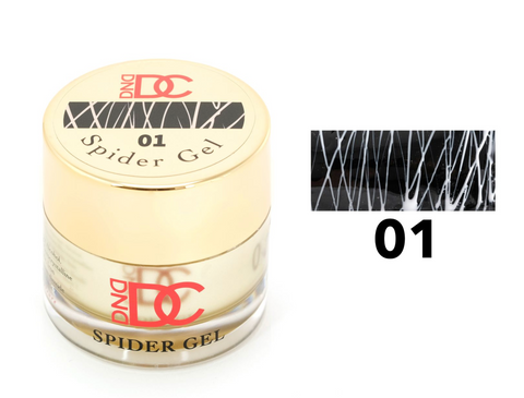 DND DC SPIDER GEL - 01 WHITE
