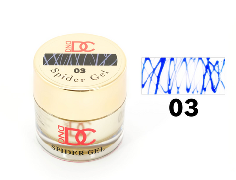 DND DC SPIDER GEL - 03 BLUE  - C0092