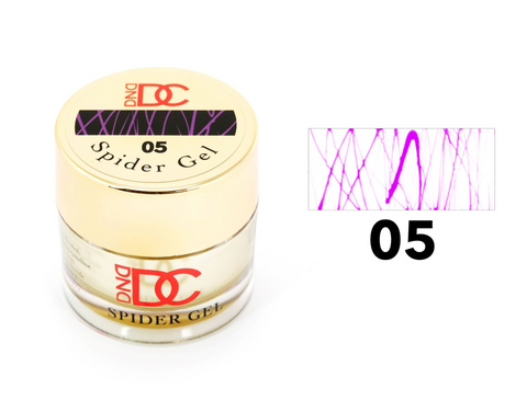 DND DC SPIDER GEL - 05 PURPLE
