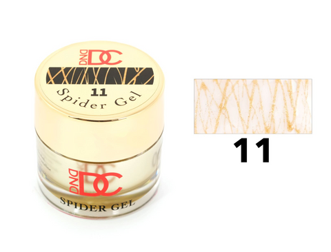 DND DC SPIDER GEL - 11 GOLD - C0092