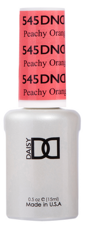 DND GEL -545 PEACHY ORANGE - GEL BOTTLE ONLY