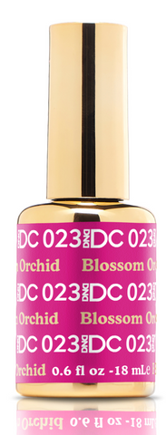 DND DC GEL - 023 BLOSSOM ORCHID - GEL BOTTLE ONLY