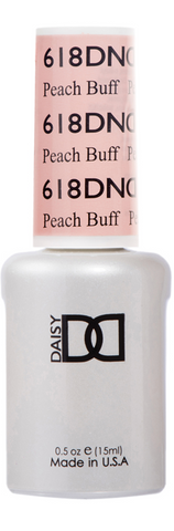 DND GEL - 618 PEACH BUFF - GEL BOTTLE ONLY