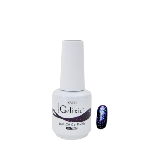 Gelixir X Collection - Glitter Gel Color – X801