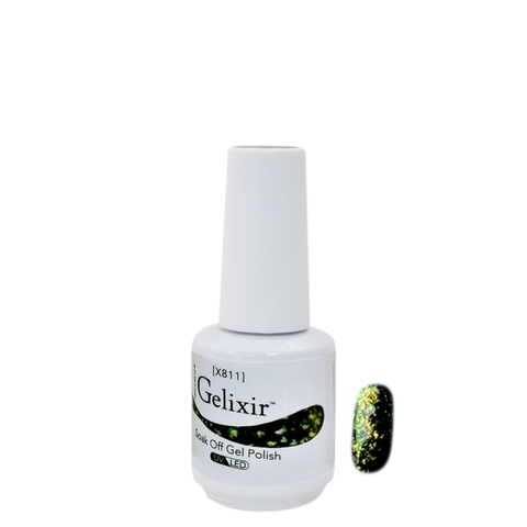 Gelixir X Collection - Glitter Gel Color – X811