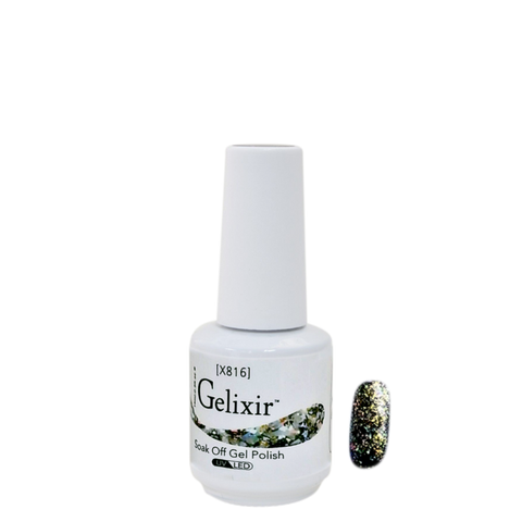 Gelixir X Collection - Glitter Gel Color – X816