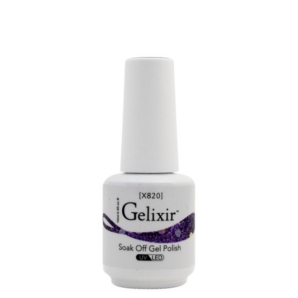 Gelixir X Collection - Glitter Gel Color – X820