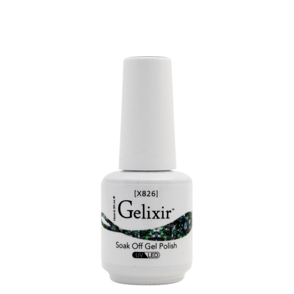 Gelixir X Collection - Glitter Gel Color – X826