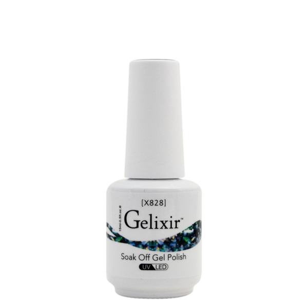 Gelixir X Collection - Glitter Gel Color – X828