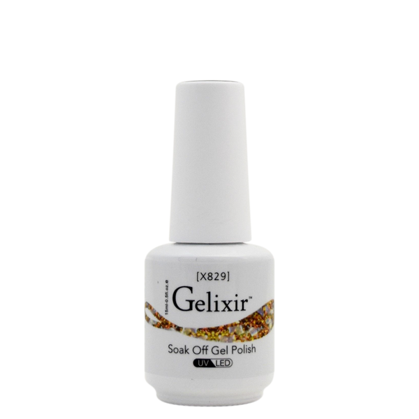 Gelixir X Collection - Glitter Gel Color – X829