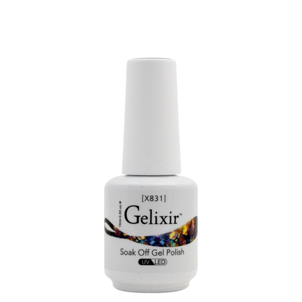Gelixir X Collection - Glitter Gel Color – X831