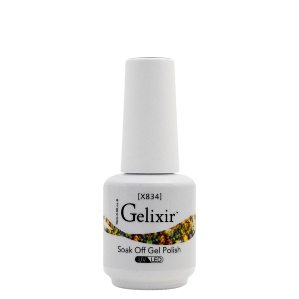 Gelixir X Collection - Glitter Gel Color – X834