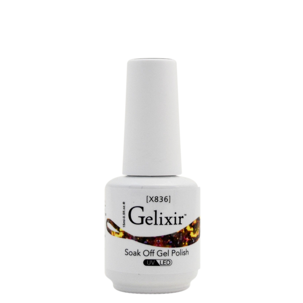 Gelixir X Collection - Glitter Gel Color – X836