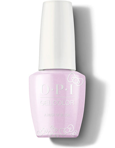 HP L02- OPI Gel Color - A HUSH OF BLUSH - HELLO KITTY COLLECTION