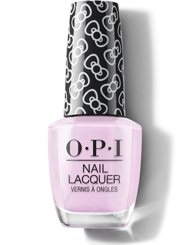 HP L02 - OPI Regular Lacquer  -  A HUSH OF BLUSH - HELLO KITTY COLLECTION