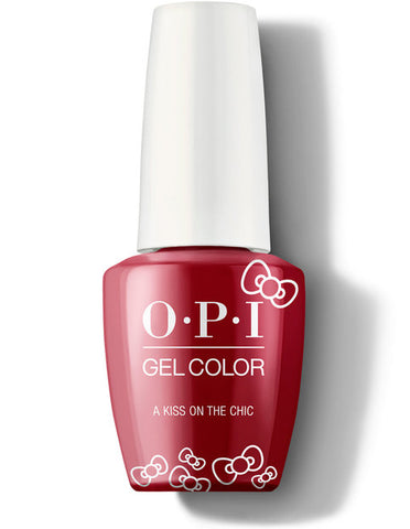 HP L05- OPI Gel Color - A KISS ON THE CHIC - HELLO KITTY COLLECTION