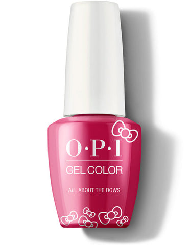 HP L04 - OPI Gel Color - ALL ABOUT HE BOWS - HELLO KITTY COLLECTION